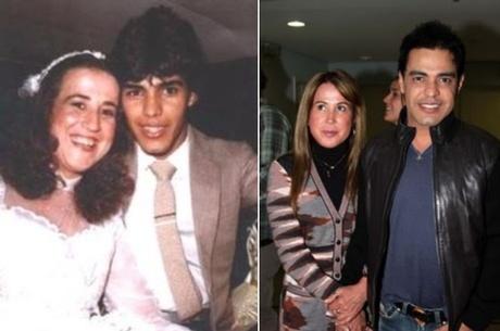 Zezé Di Camargo e Zilu estariam juntos novamente, diz jornal Reprodução/AgNews